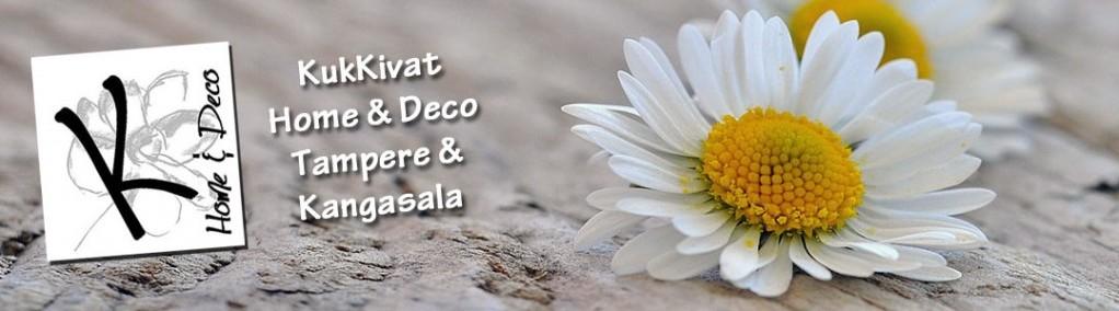 Kukkakauppa ja sisustusliike KukKivat Home & Deco Oy - Kangasala